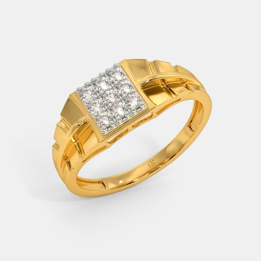 71ae8b6959a23 Buy 150+ Men's Diamond Ring Designs Online in India 2019 | BlueStone.com
