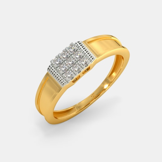0bee175a3a21d Buy 150+ Men's Diamond Ring Designs Online in India 2019 | BlueStone.com