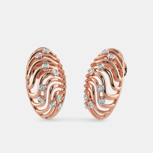 The Ripple Stud Earrings