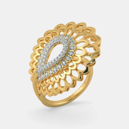 The Kalapi Feather Ring