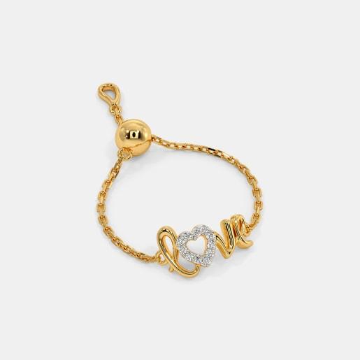The Love Letter Slider Ring