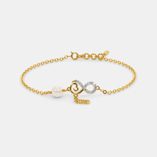 The Infinity Peral Bracelet