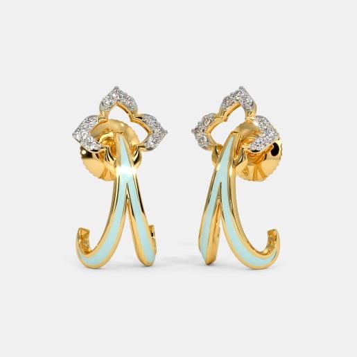 The Gilamore J Hoop Earrings
