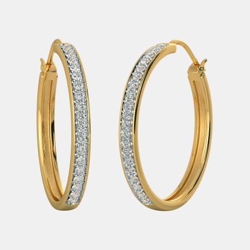 The Delkash Hoop Earrings