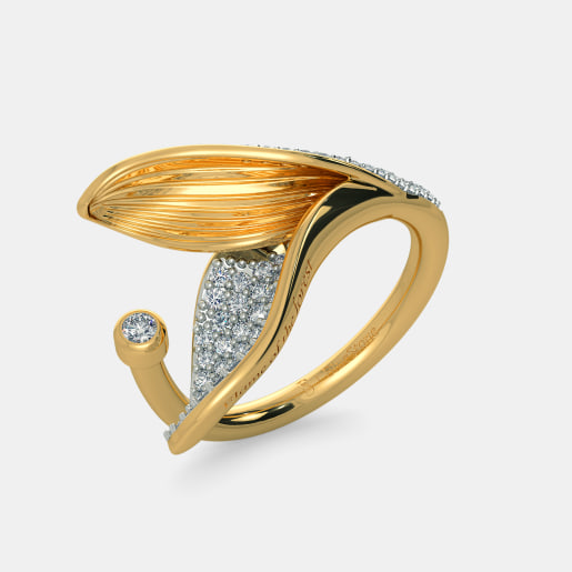 The Split Petalo Ring