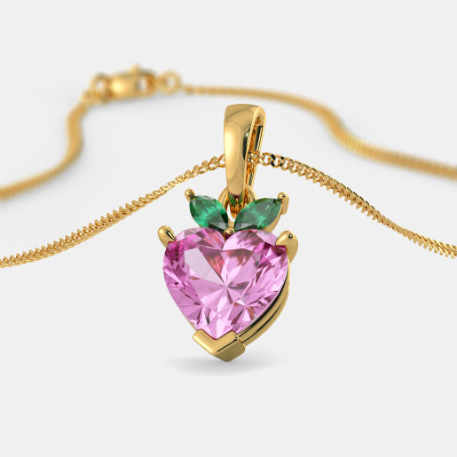 The Blushing Heart Pendant