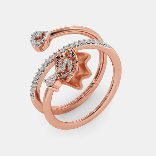 The Exie Spiral Ring