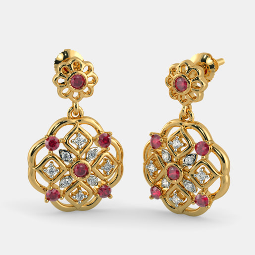 The Harimanti Drop Earrings