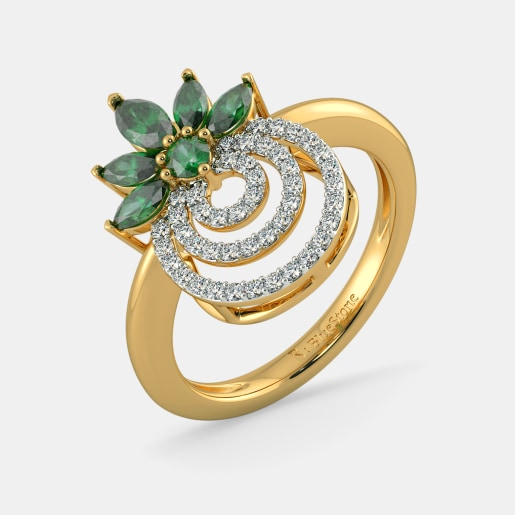 The Blooming Circles Ring