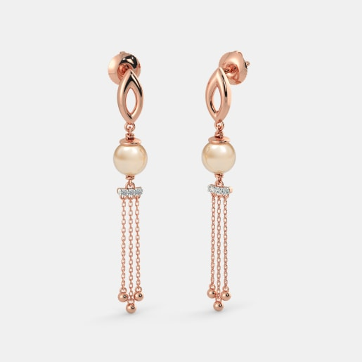 The Pearly Drop Earrings