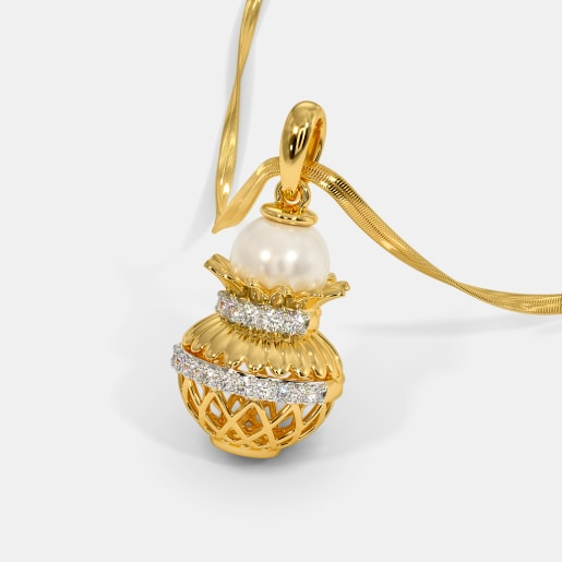 The Mangalay Kalash Pendant