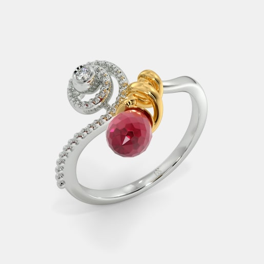 The Fern Spiral Ring