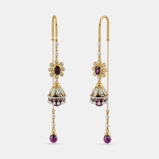 The Carmine Opulence Earrings