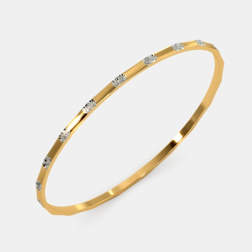 The Sleek Flaxed Bangle