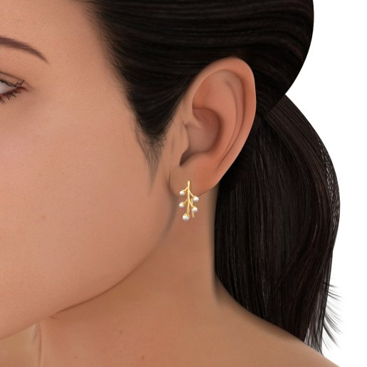 The Caralin Drop Earrings