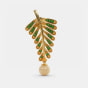 The Fern Drop Earrings