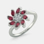 The Flowery Panache Ring